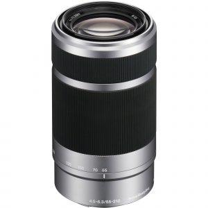 Sony E 55-210mm f/4.5-6.3 OSS Lens (Silver) Image