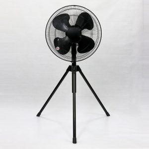 Industrial cooling fan 43.5cm tripod stand Black Image