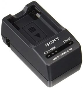 Sony BC-TRW W Series Battery Charger (Black) Image