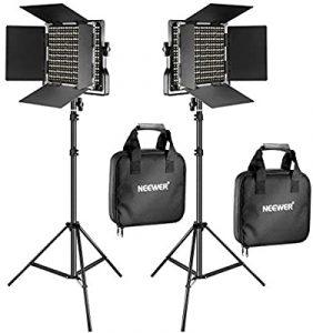 Neewer bi-color 660 LED video light (set of 2) Image