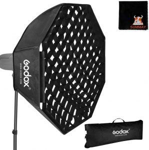 Godox 120cm Octagon Softbox Grid - Bowens Mount Image