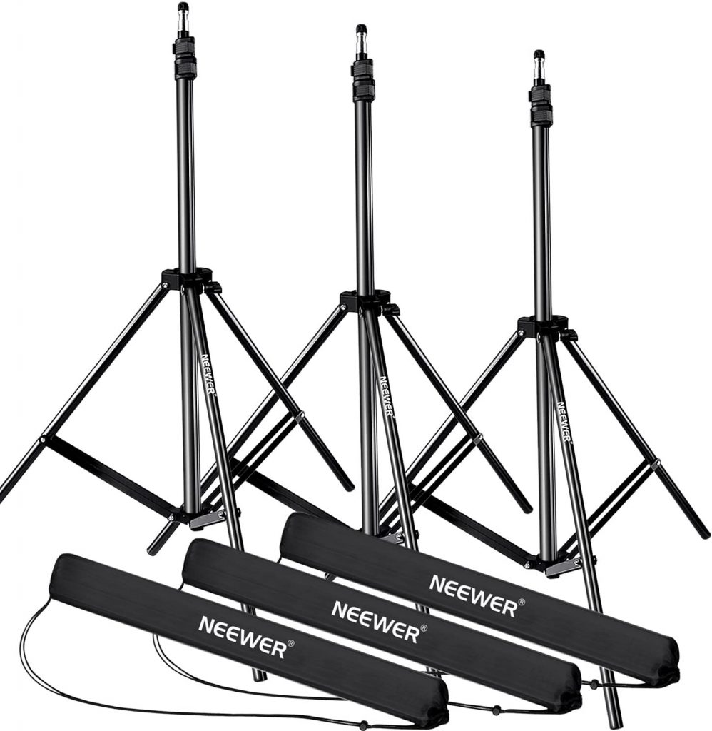Neewer 28-83 inch photography light stands(Set of 3) Image