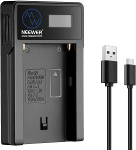 Neewer USB Dual Battery Charger NW-USBF550 Image