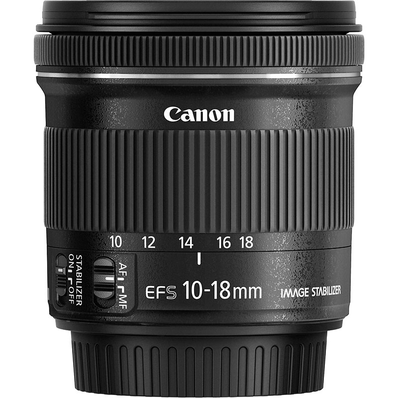 Canon EF-S 10-18mm f/4.5-5.6 IS STM Lens Image