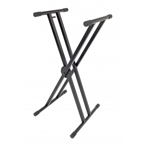 Double-Braced Adjustable X-Style Keyboard Stand Image